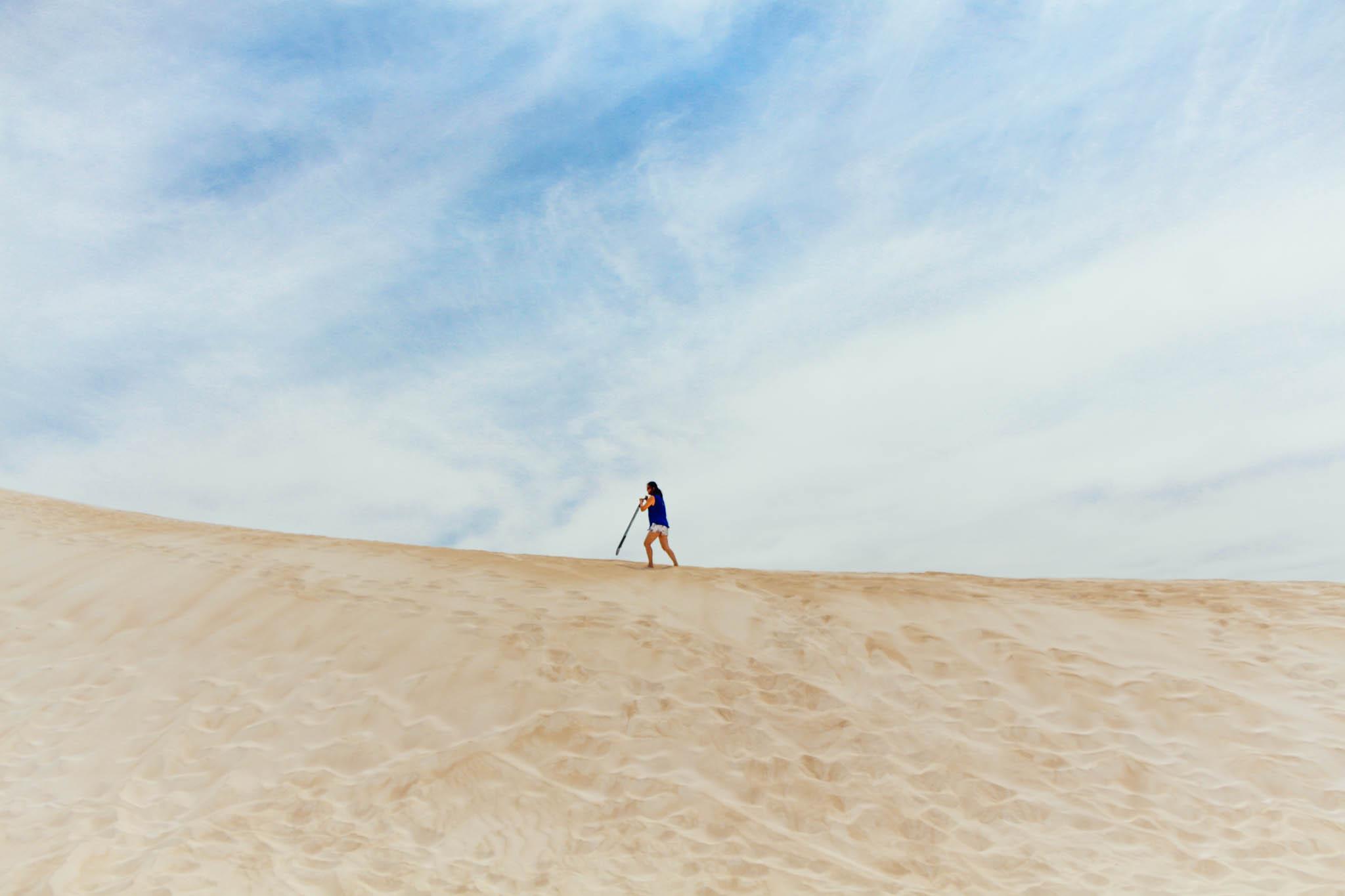 Lancelin Sand Dunes, Western Australia, Australia
