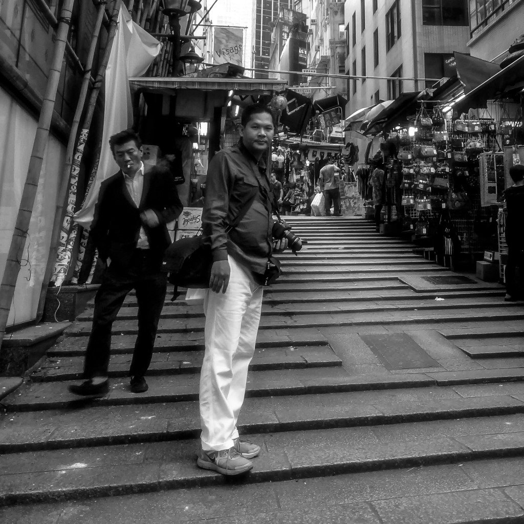 Pottinger Street, Hong Kong