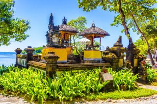 A little temple by the Nusa Dua Beach, Bali, Indonesia