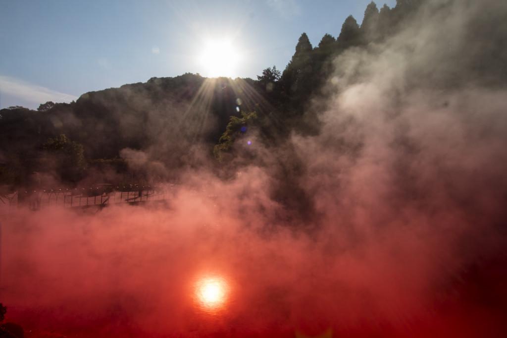 Beppu Blood Pond Hell | Kyushu