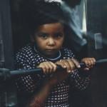 Kid innocent eye expression New Delhi