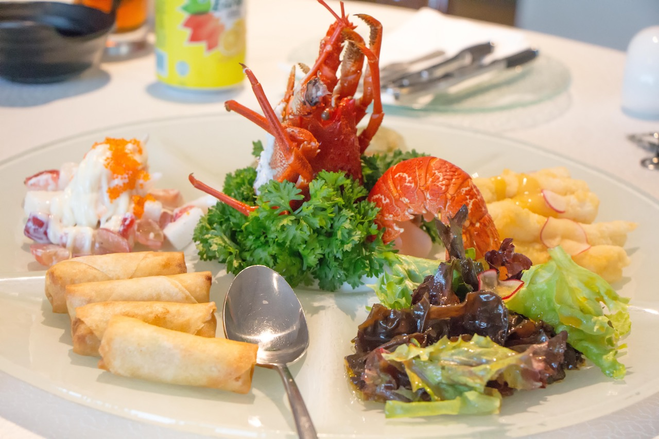 Majestic Bay Seafood Restaurant Flower Dome Singapore