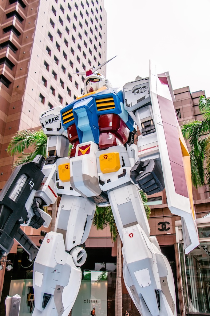 Gundam and Zaku, Nee Ann City, Singapore
