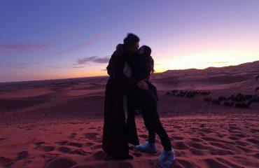 Sahara Desert Morocco or Erg Chebbi near Merzouga