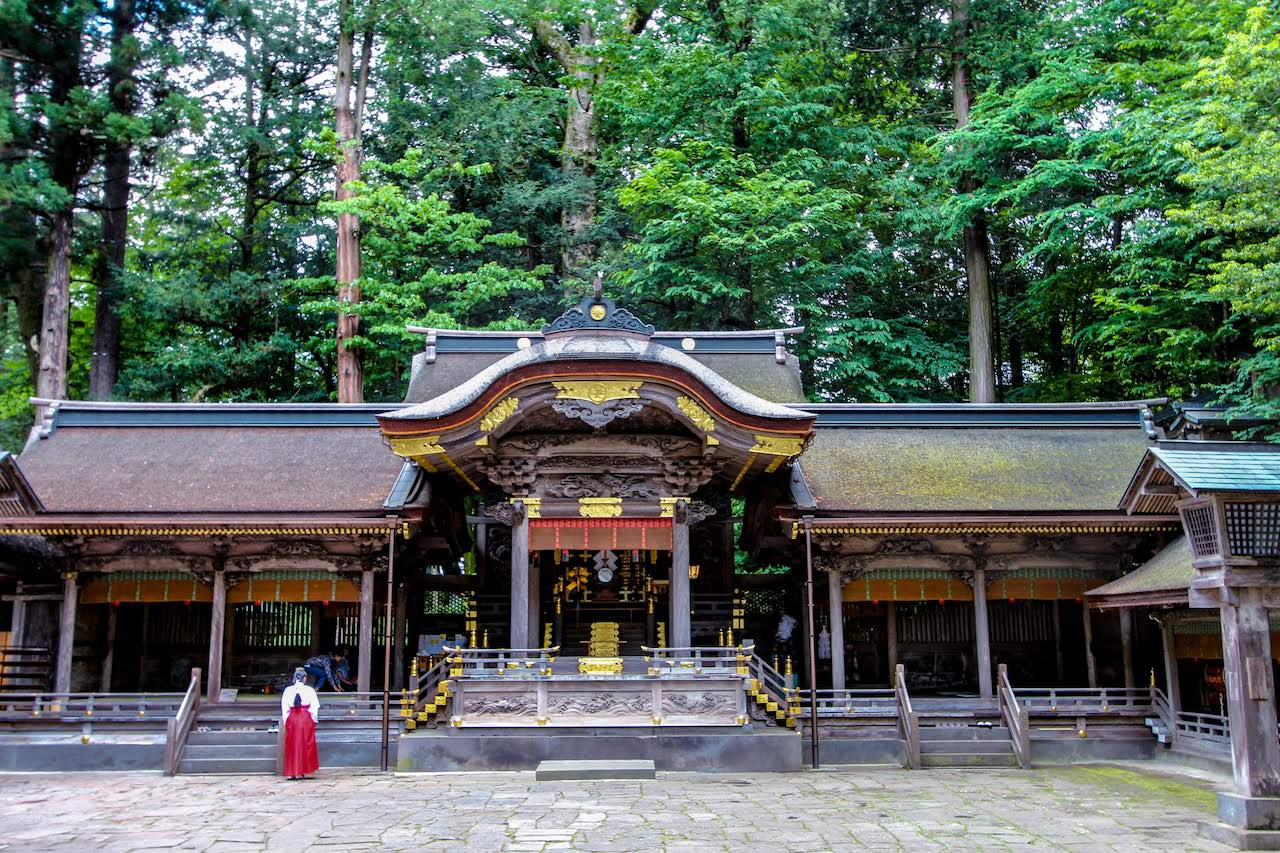 Suwa Taisha Upper Main Shrine (Kamisha Honmiya) 諏訪大社 上社本宮