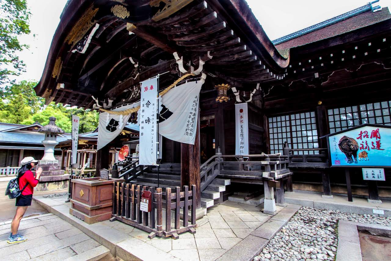 Takeda Shrine 武田神社